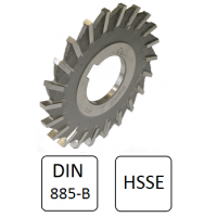 Fresa Circular de 3 Cortes HSS 2109 DIN 885-B -  50x5