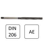 Mandril Cilíndrico Helicoidal AC 002 DIN 206 -  3   mm